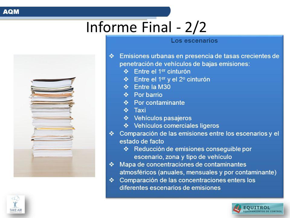 Informe Final - 2/2 AQM Los escenarios