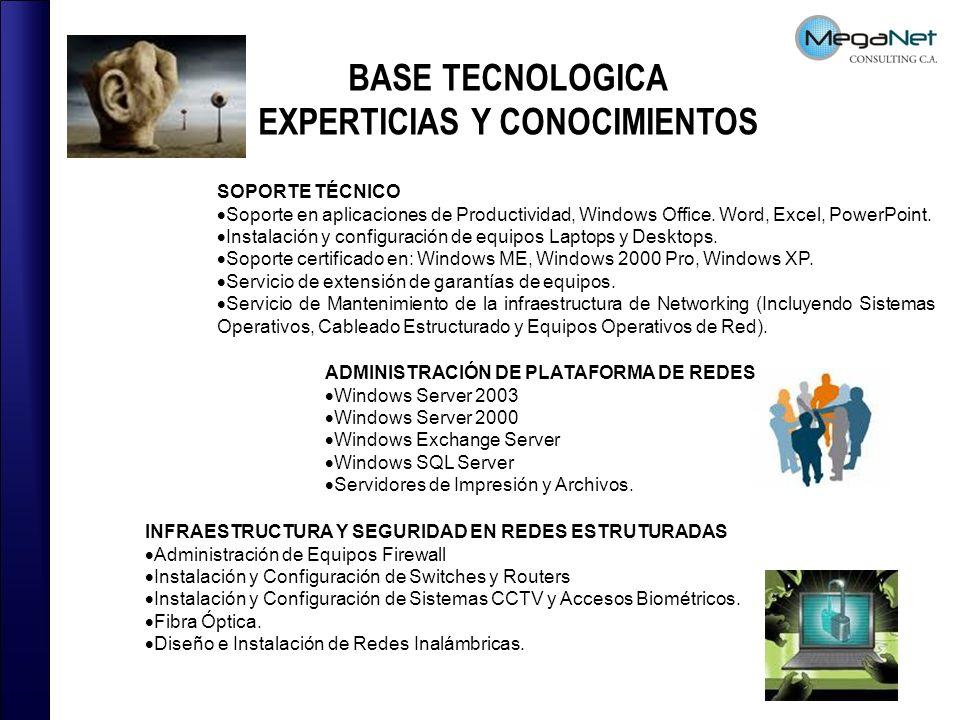 EXPERTICIAS Y CONOCIMIENTOS