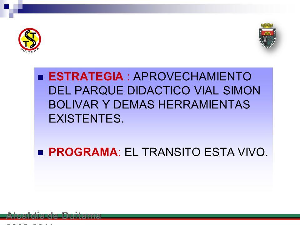 PROGRAMA: EL TRANSITO ESTA VIVO.