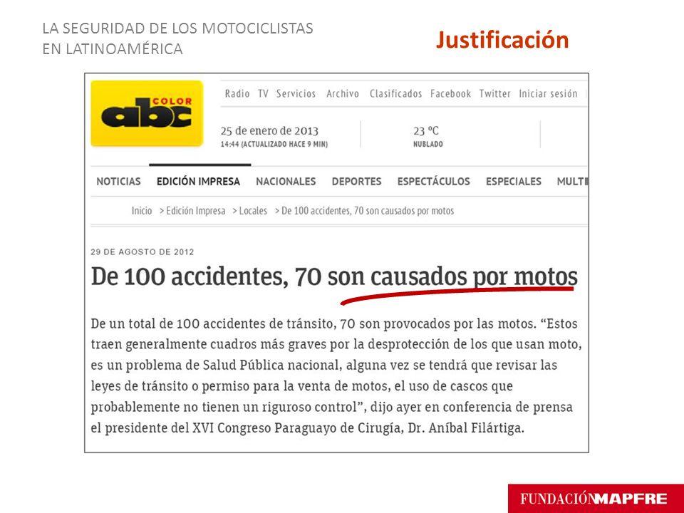 LA SEGURIDAD DE LOS MOTOCICLISTAS