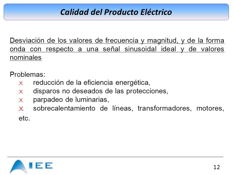 Calidad del Producto Eléctrico