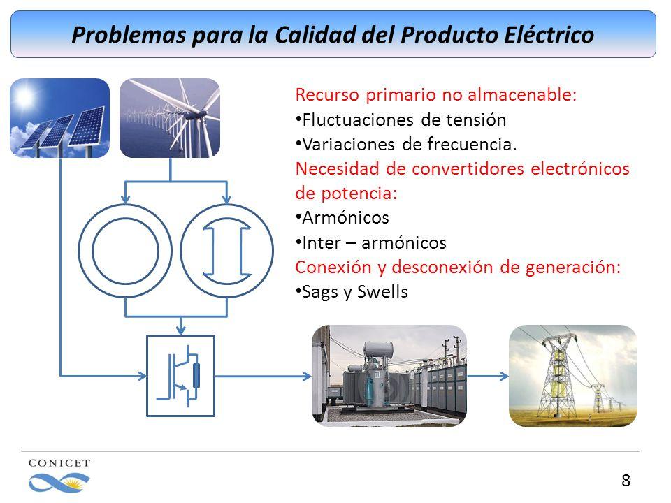 Problemas para la Calidad del Producto Eléctrico