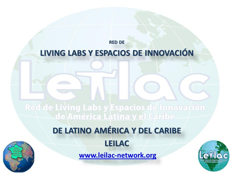LIVING LABS Y ESPACIOS DE INNOVACIÓN DE LATINO AMÉRICA Y DEL CARIBE