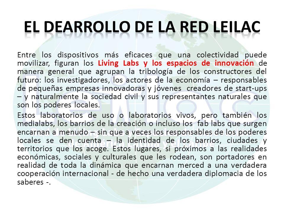 el dearrollo de la REd LEILAC