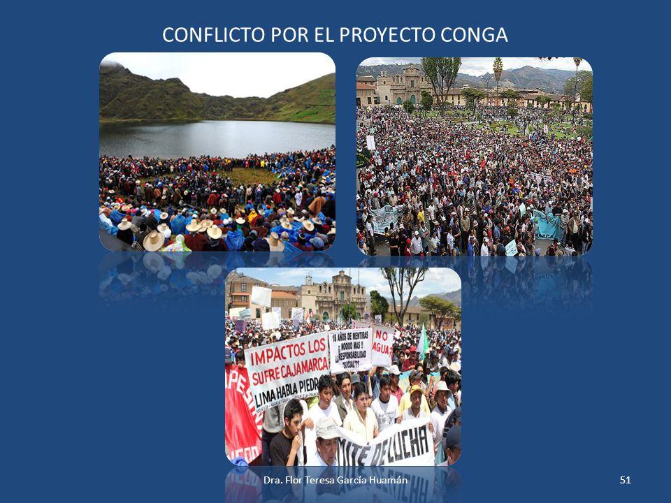 CONFLICTO POR EL PROYECTO CONGA