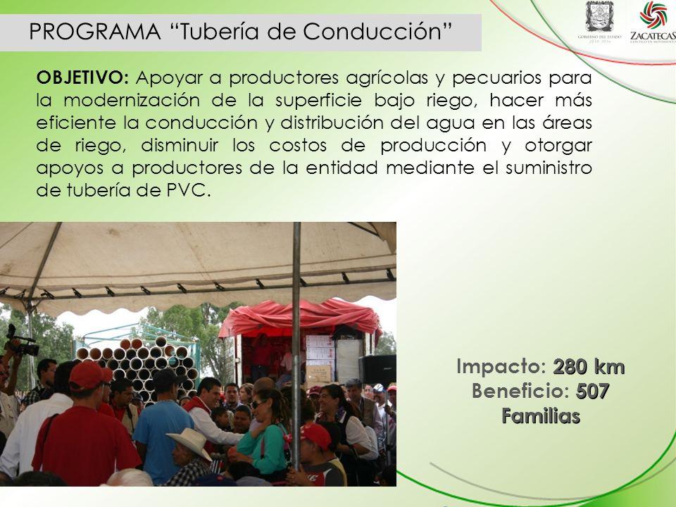 PROGRAMA Tubería de Conducción