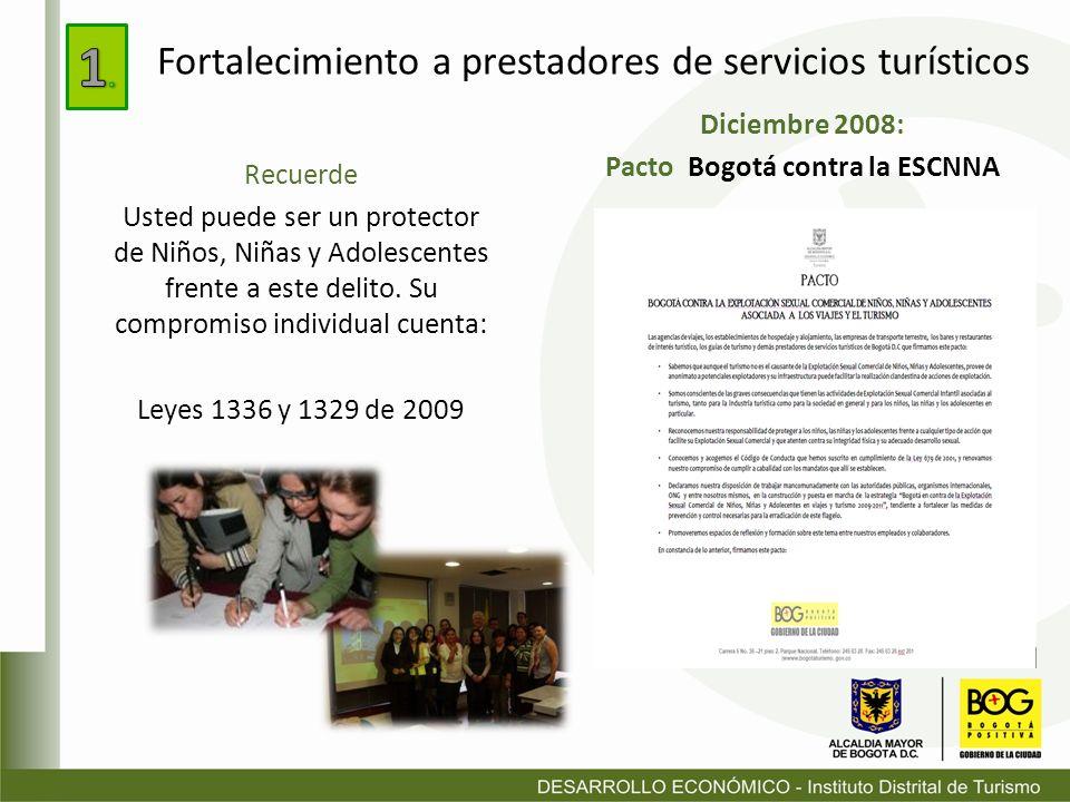 Pacto Bogotá contra la ESCNNA