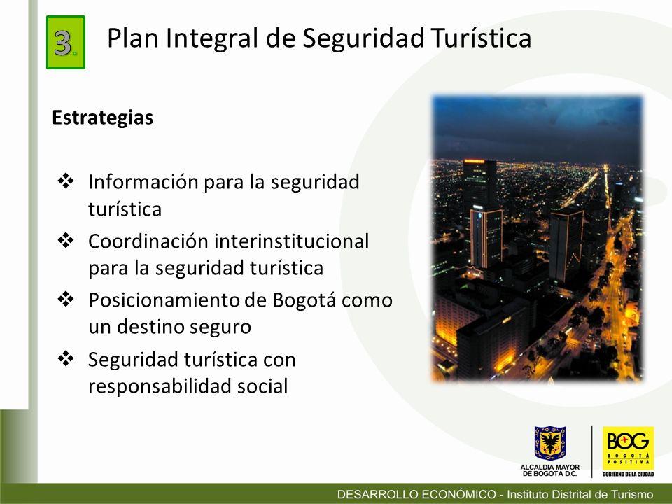 3. Plan Integral de Seguridad Turística Estrategias