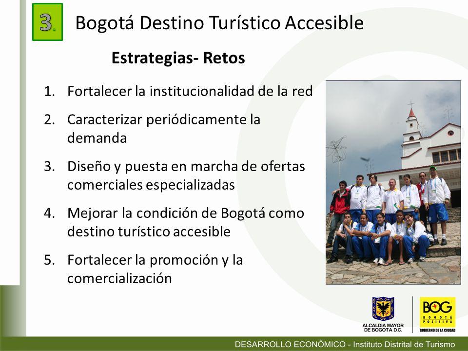 3. Bogotá Destino Turístico Accesible Estrategias- Retos