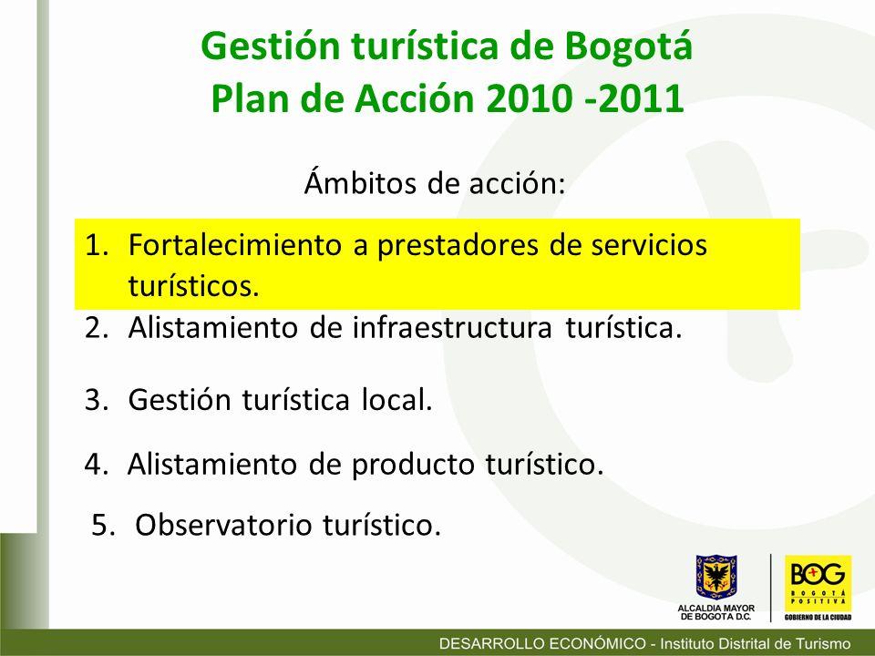 Gestión turística de Bogotá
