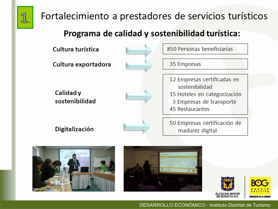 Programa de calidad y sostenibilidad turística: