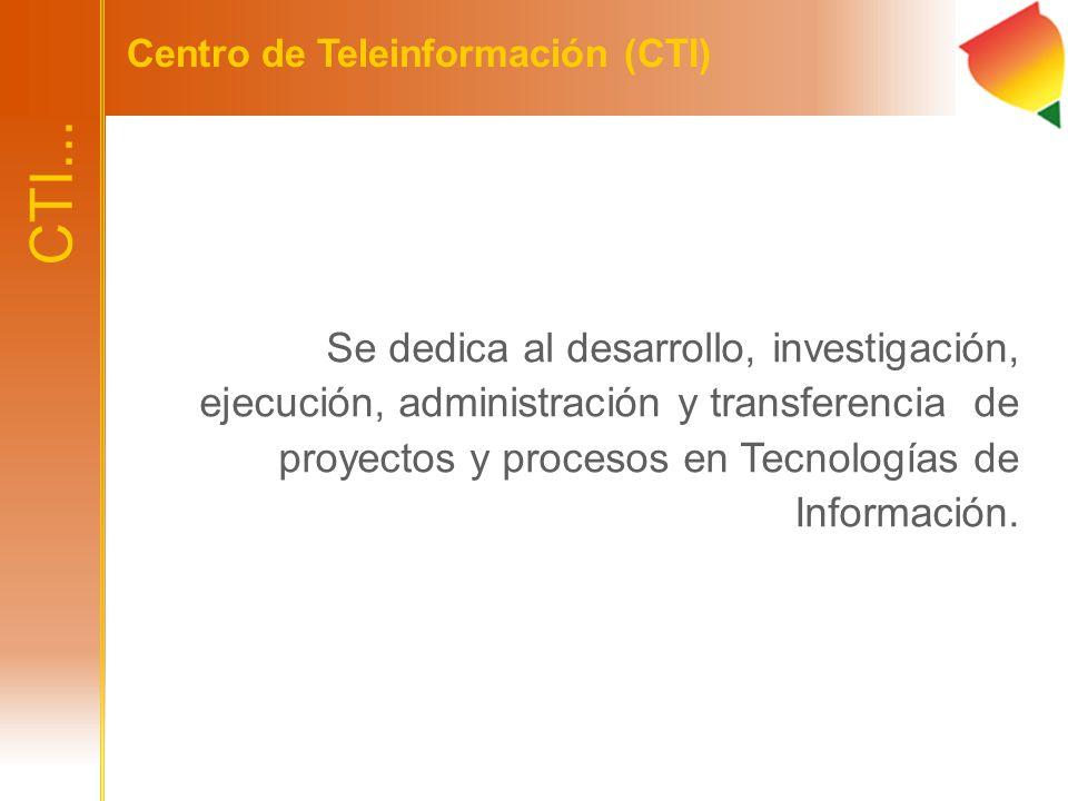 Centro de Teleinformación (CTI)