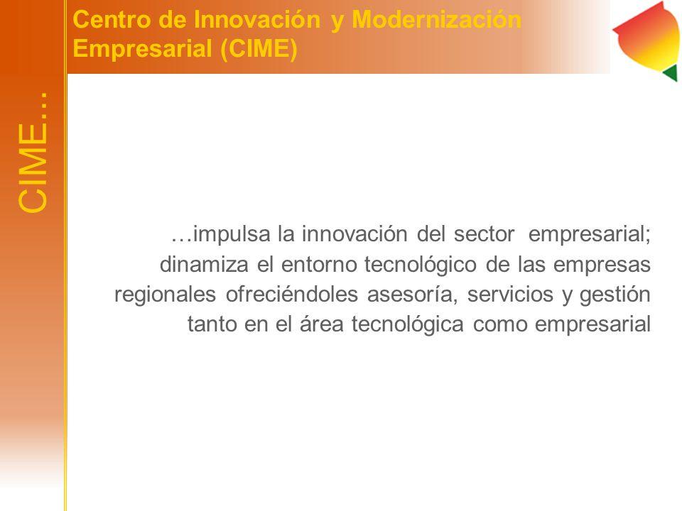 CIME... Centro de Innovación y Modernización Empresarial (CIME)
