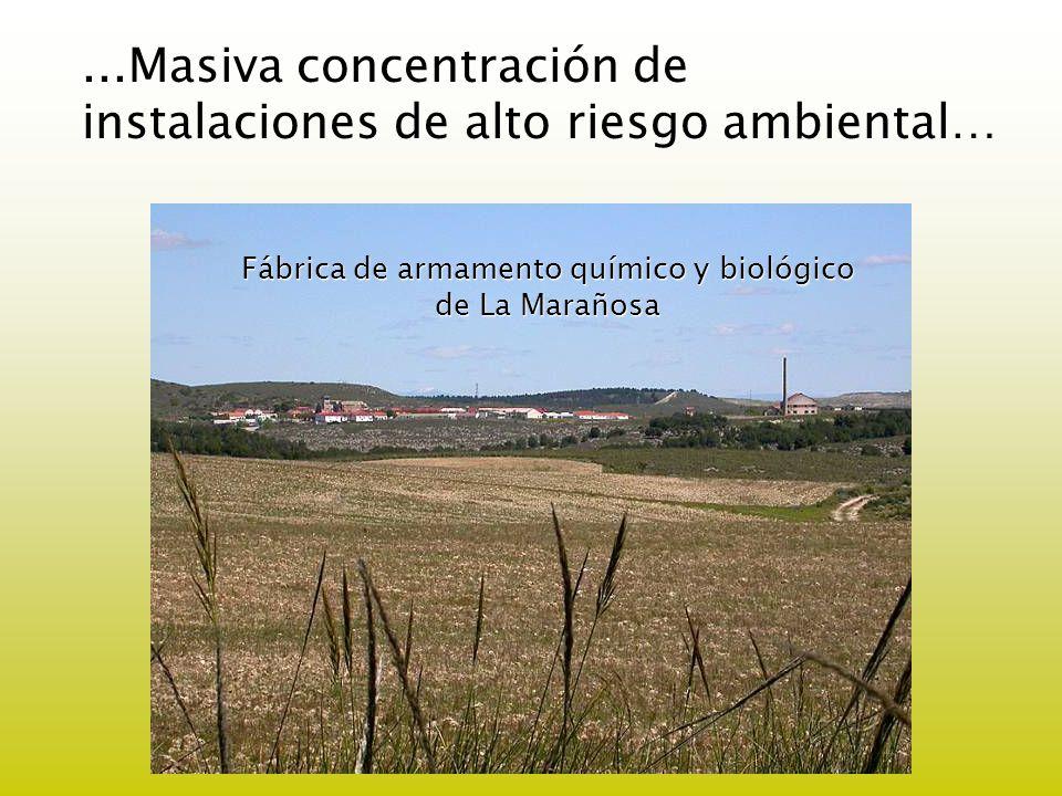 Fábrica de armamento químico y biológico de La Marañosa