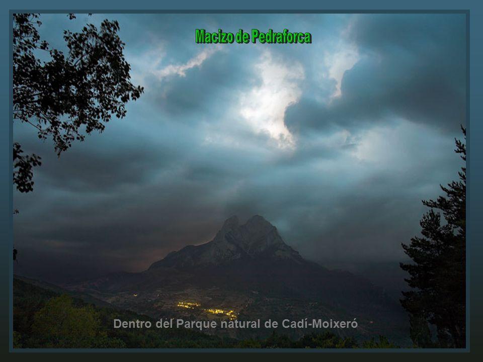 Dentro del Parque natural de Cadí-Moixeró