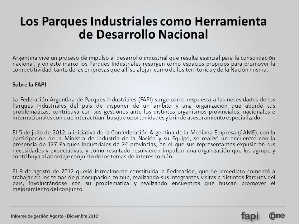 Los Parques Industriales como Herramienta de Desarrollo Nacional