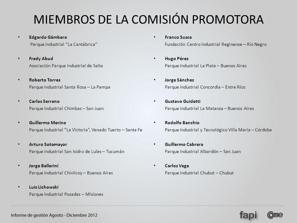 MIEMBROS DE LA COMISIÓN PROMOTORA