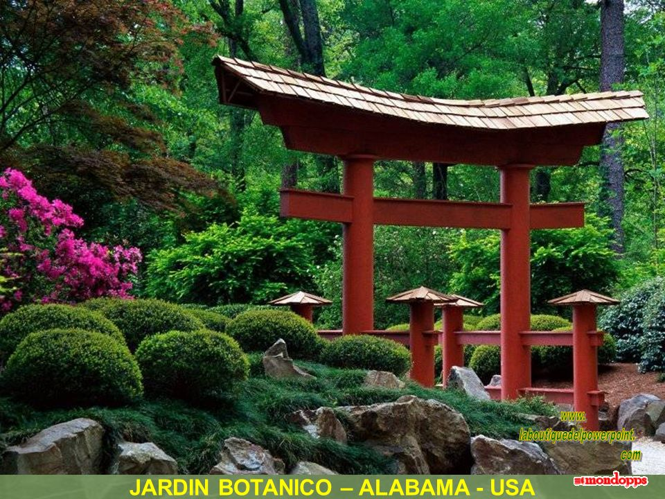 JARDIN BOTANICO – ALABAMA - USA