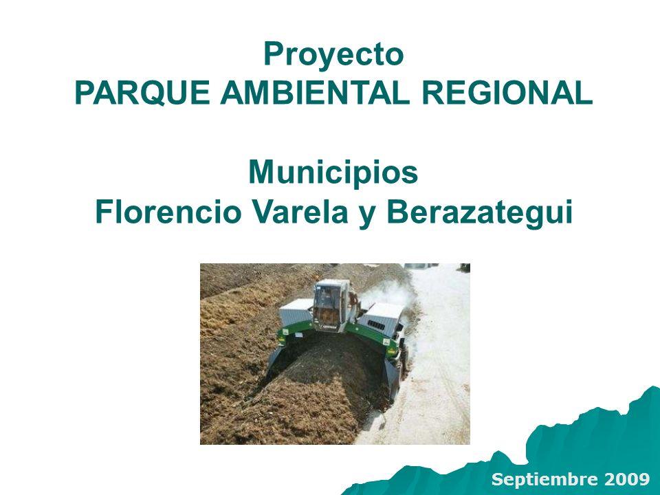 PARQUE AMBIENTAL REGIONAL Florencio Varela y Berazategui