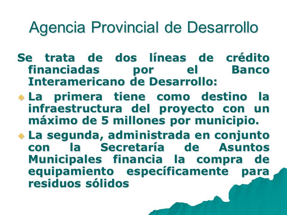 Agencia Provincial de Desarrollo
