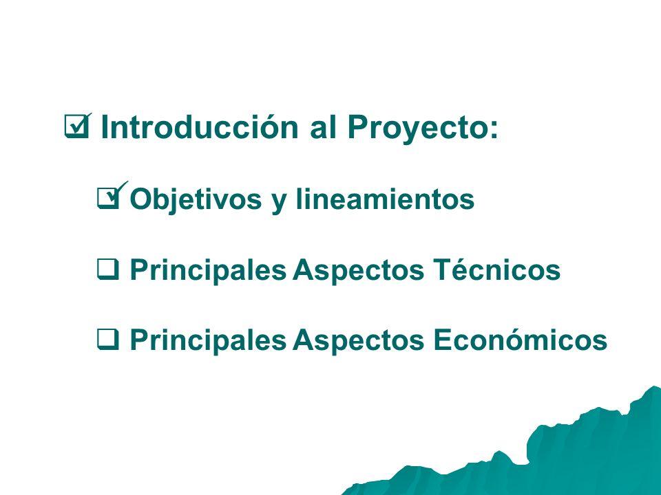 Introducción al Proyecto:
