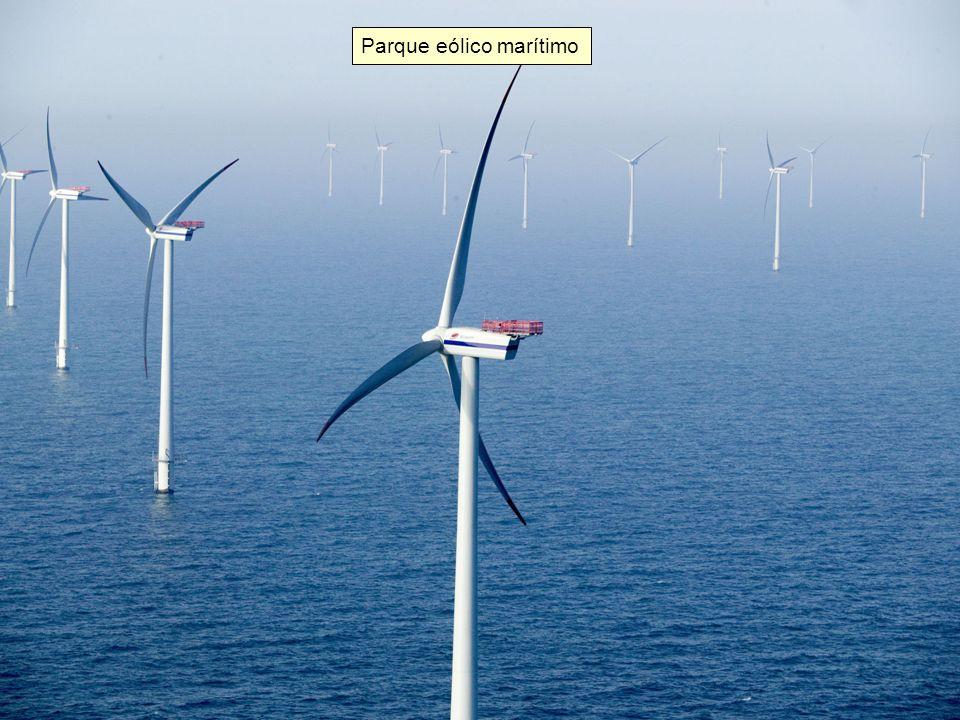 Parque eólico marítimo