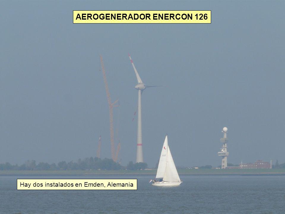 Hay dos instalados en Emden, Alemania