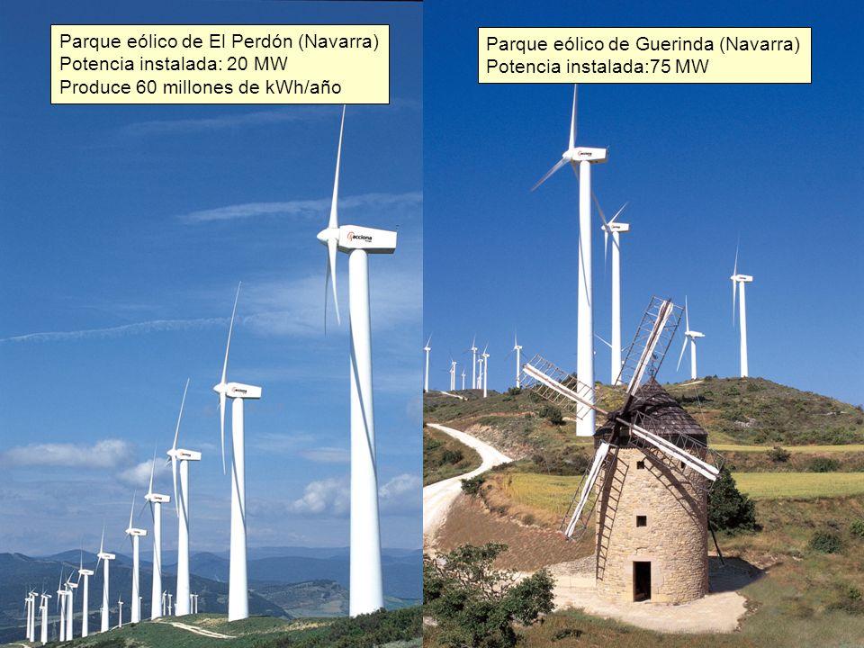 Parque eólico de El Perdón (Navarra)