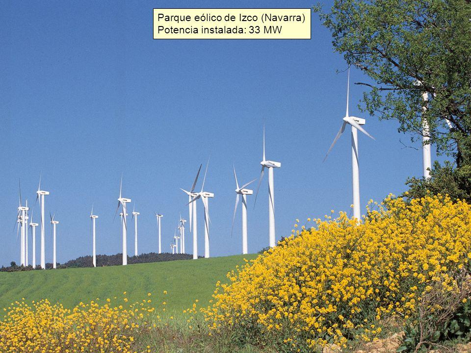 Parque eólico de Izco (Navarra)