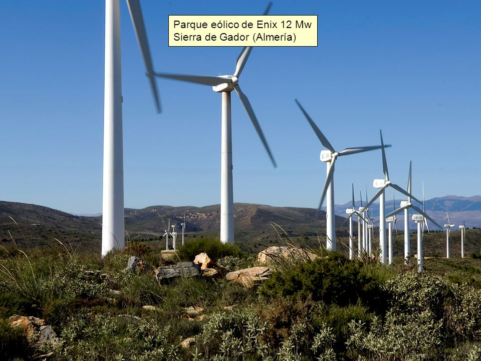 Parque eólico de Enix 12 Mw