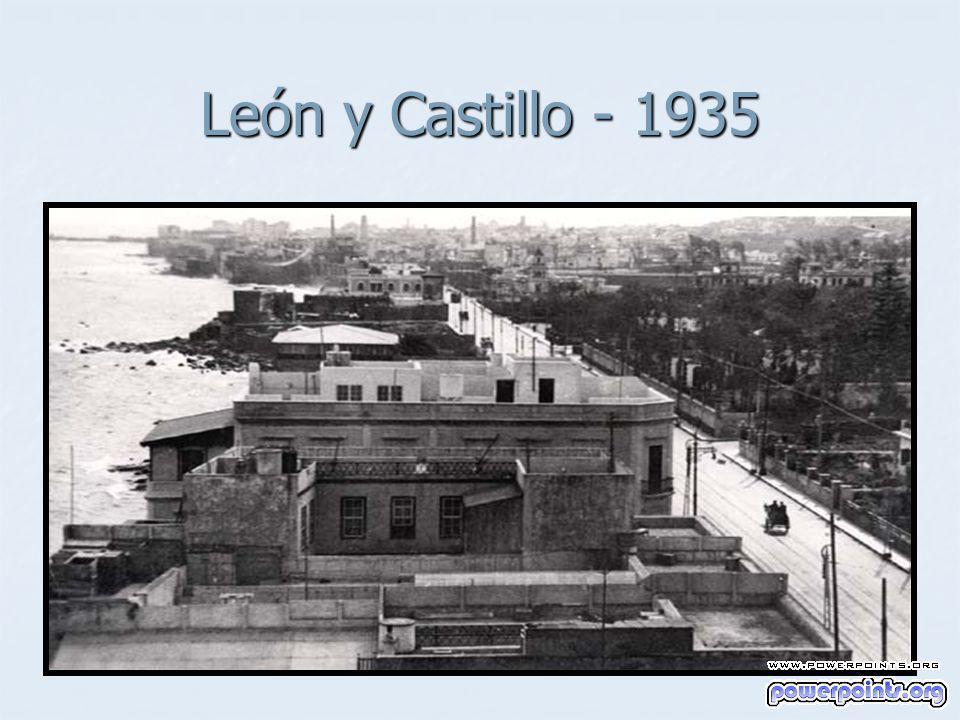León y Castillo - 1935