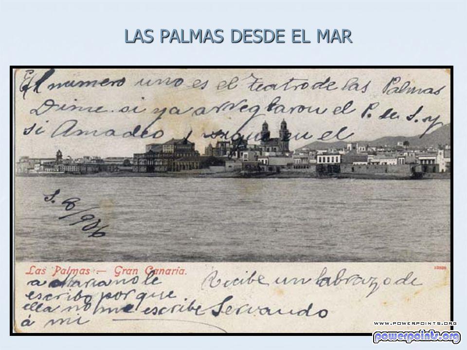 LAS PALMAS DESDE EL MAR