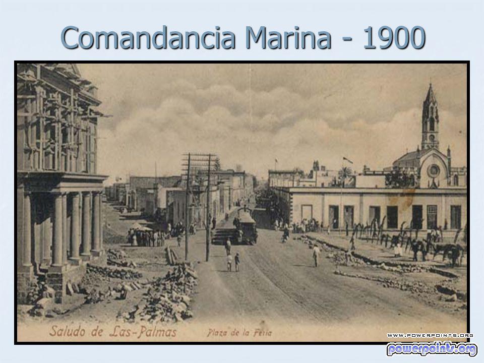 Comandancia Marina - 1900