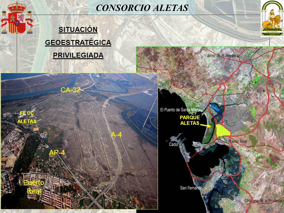 CONSORCIO ALETAS SITUACIÓN GEOESTRATÉGICA PRIVILEGIADA CA-32 A-4 AP-4