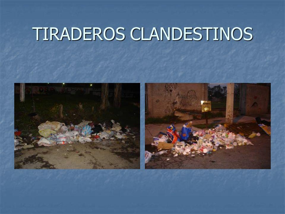 TIRADEROS CLANDESTINOS