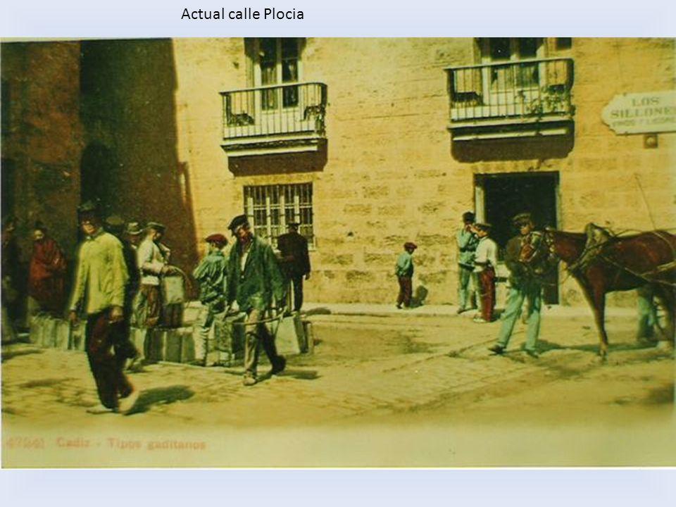 Actual calle Plocia