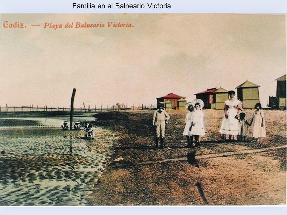 Familia en el Balneario Victoria