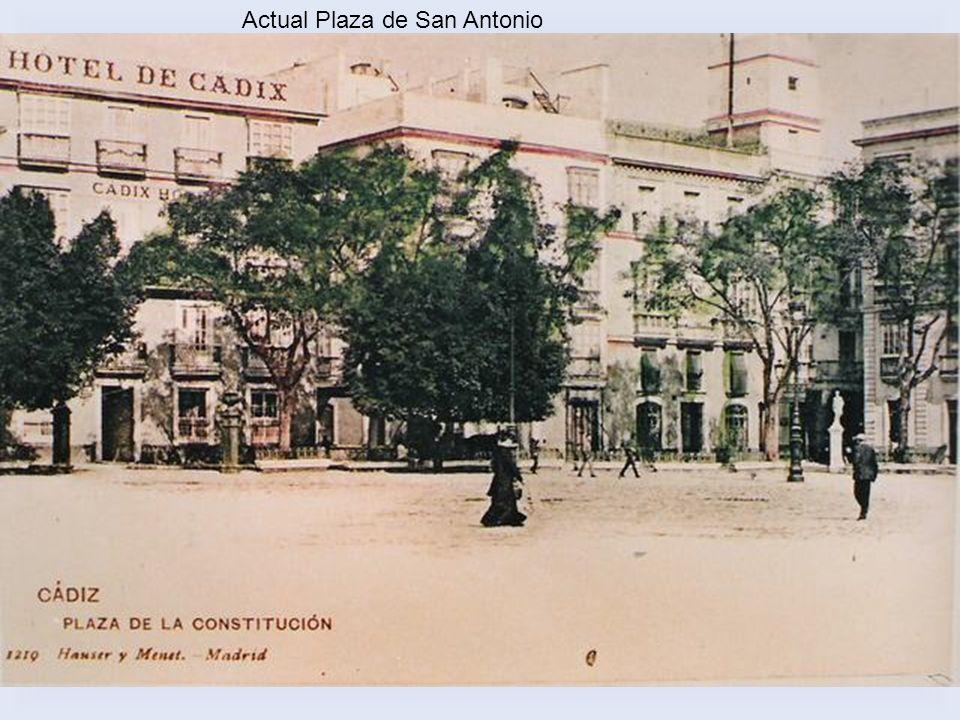 Actual Plaza de San Antonio