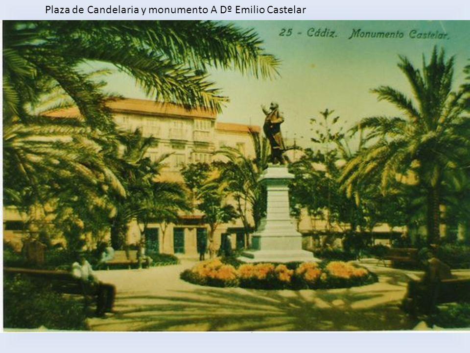 Plaza de Candelaria y monumento A Dº Emilio Castelar