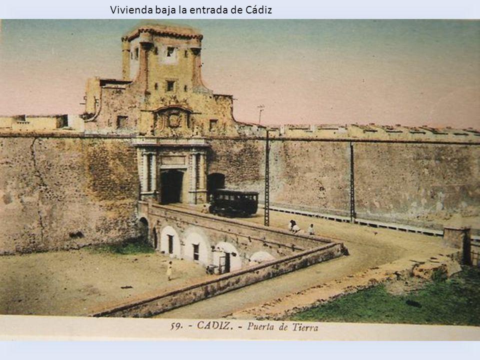 Vivienda baja la entrada de Cádiz