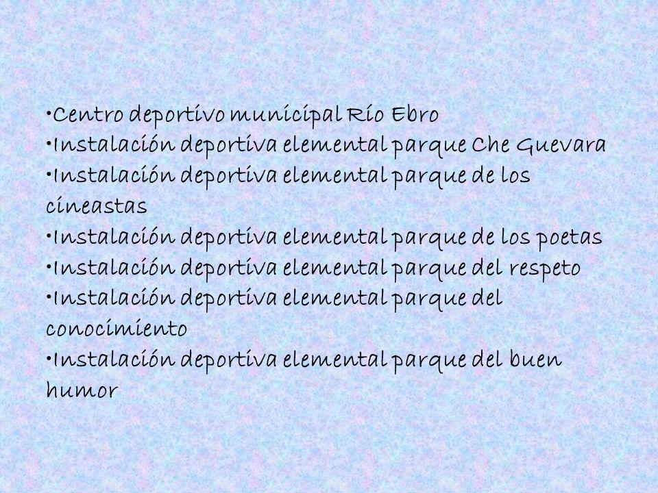 Centro deportivo municipal Río Ebro