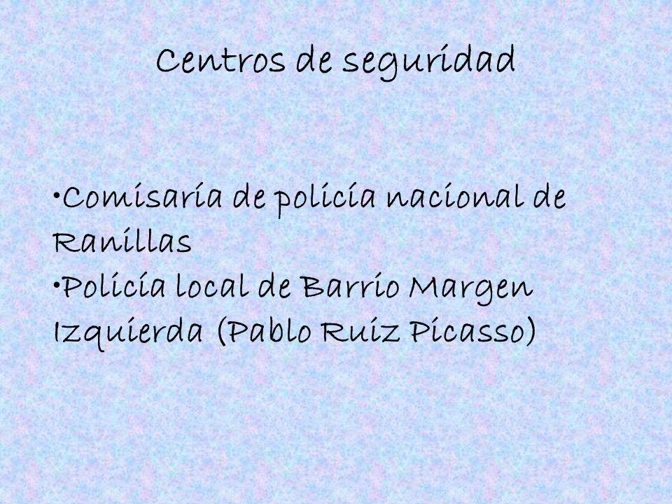 Centros de seguridad Comisaría de policía nacional de Ranillas