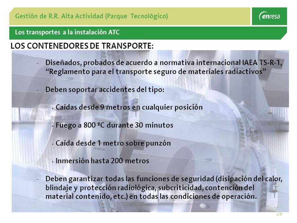 LOS CONTENEDORES DE TRANSPORTE: