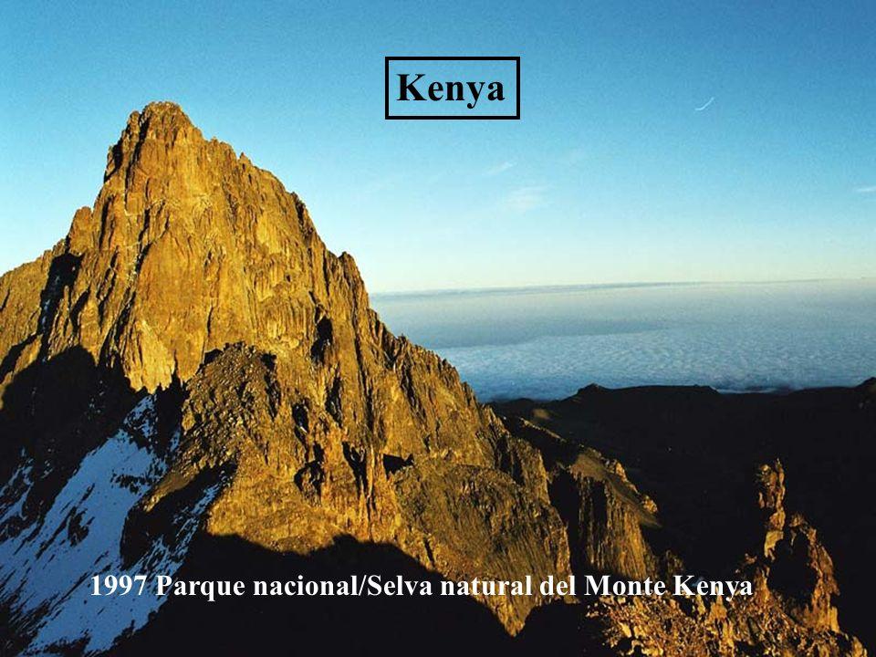 Kenya 1997 Parque nacional/Selva natural del Monte Kenya