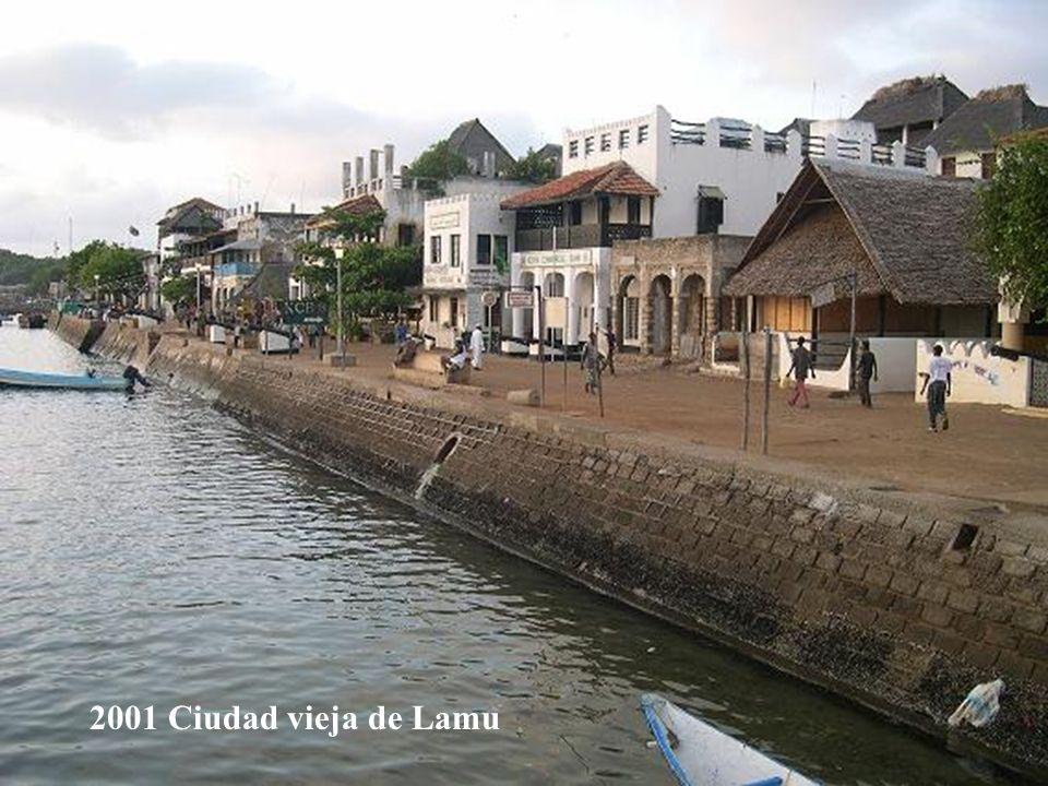 2001 Ciudad vieja de Lamu
