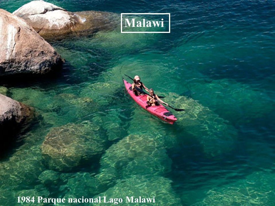 Malawi 1984 Parque nacional Lago Malawi