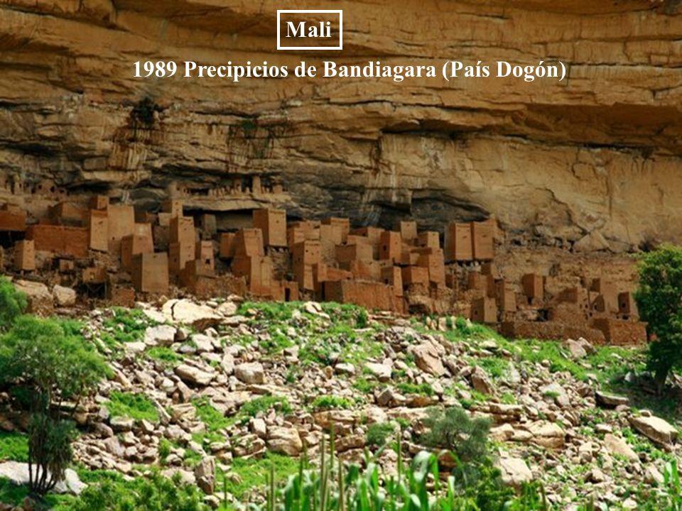 Mali 1989 Precipicios de Bandiagara (País Dogón)