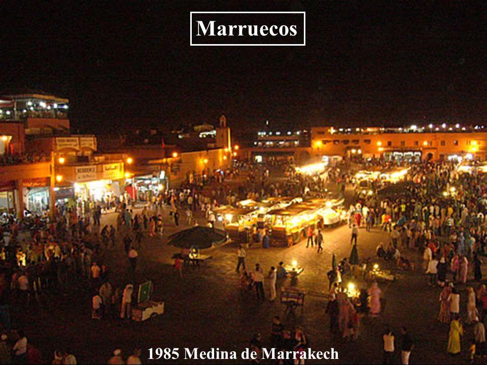 Marruecos 1985 Medina de Marrakech