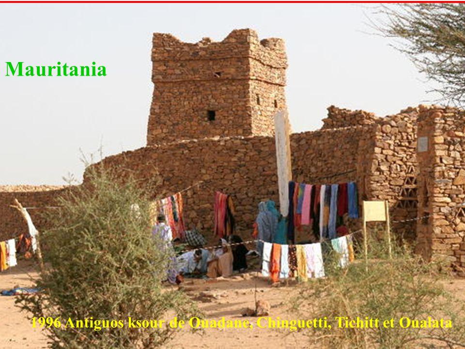 Mauritania 1996 Antiguos ksour de Ouadane, Chinguetti, Tichitt et Oualata