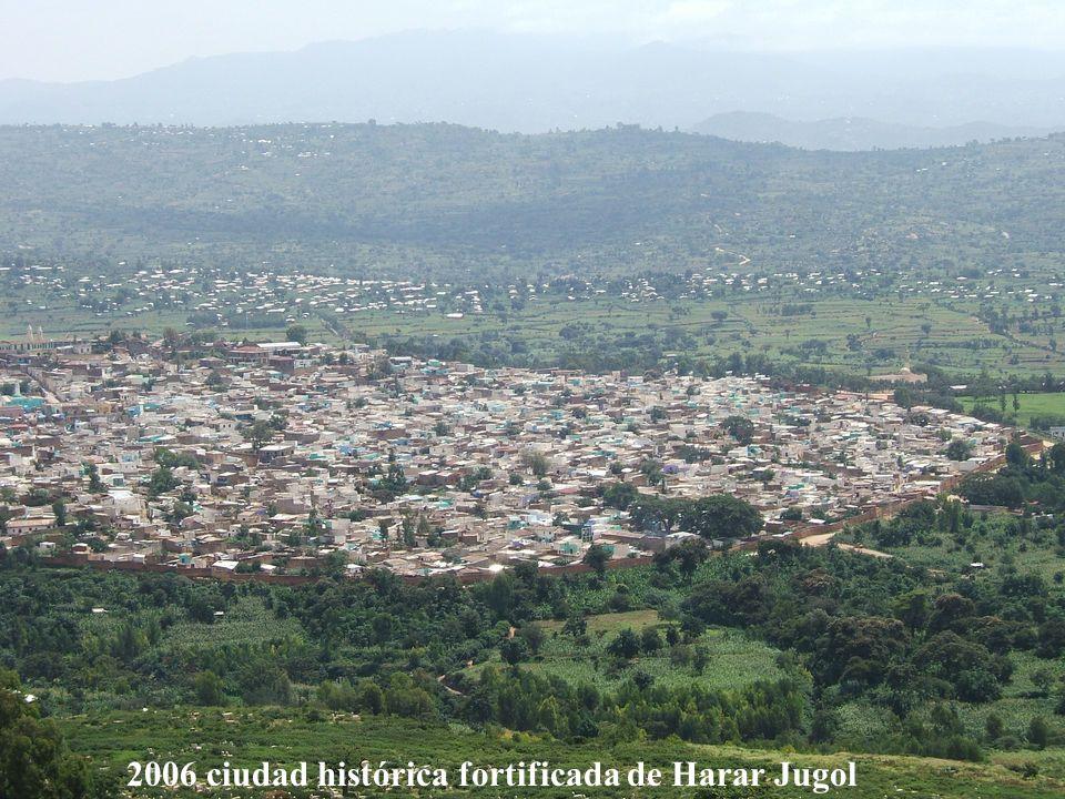 2006 ciudad histórica fortificada de Harar Jugol